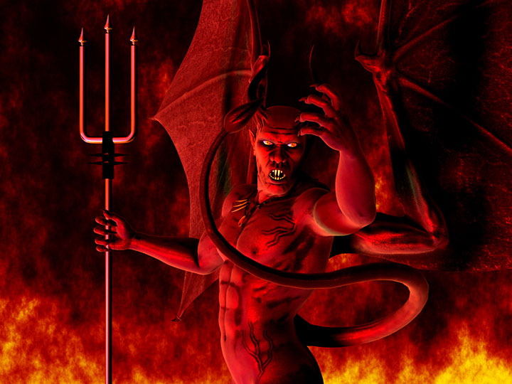 The Real Lucifer The obeah man, and real spell